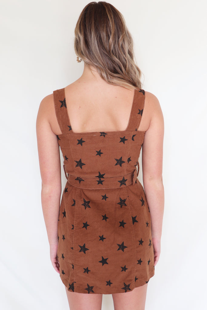 OVER THE TOP STAR PRINT DRESS | LE LIS Blu Spero online shopping