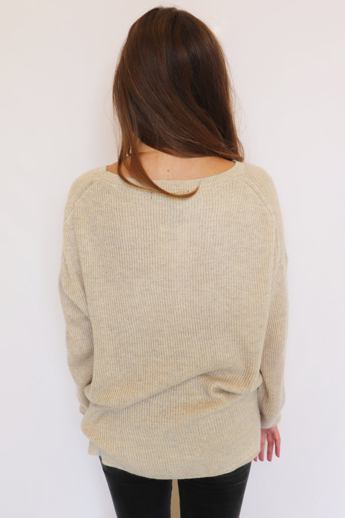 ALWAYS KEEP ME WARM SWEATER - 2 COLORS | Olivaceous Blu Spero online shopping
