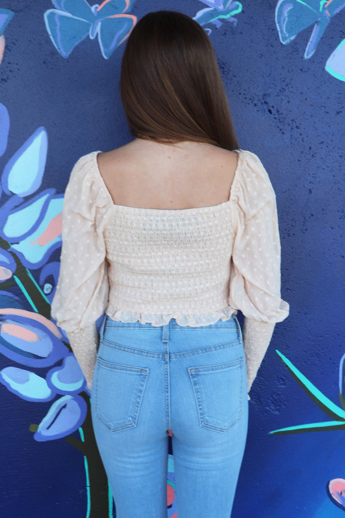 REAR VIEW SWEETHEART TOP
