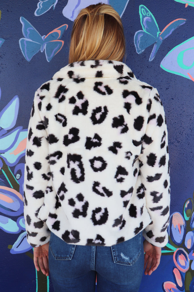 VISION OF LOVE LEOPARD COAT