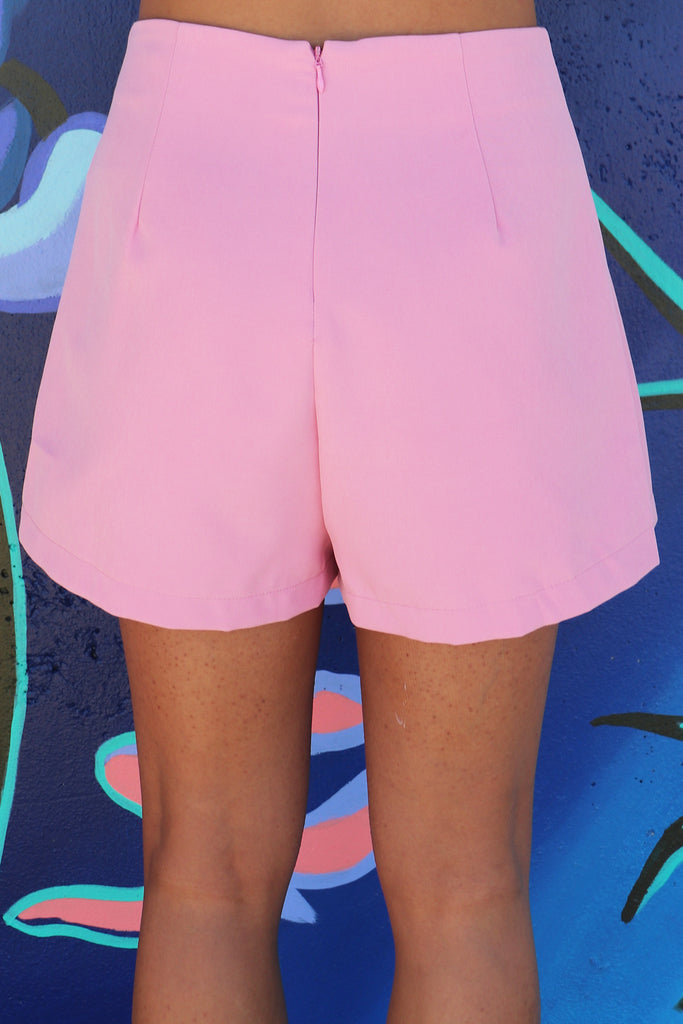 ALL THE ANGLES ASYMMETRIC SKORT - 2 COLORS