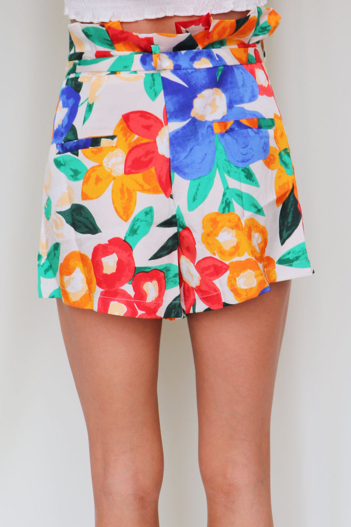 HONEY BABY FLORAL SHORTS