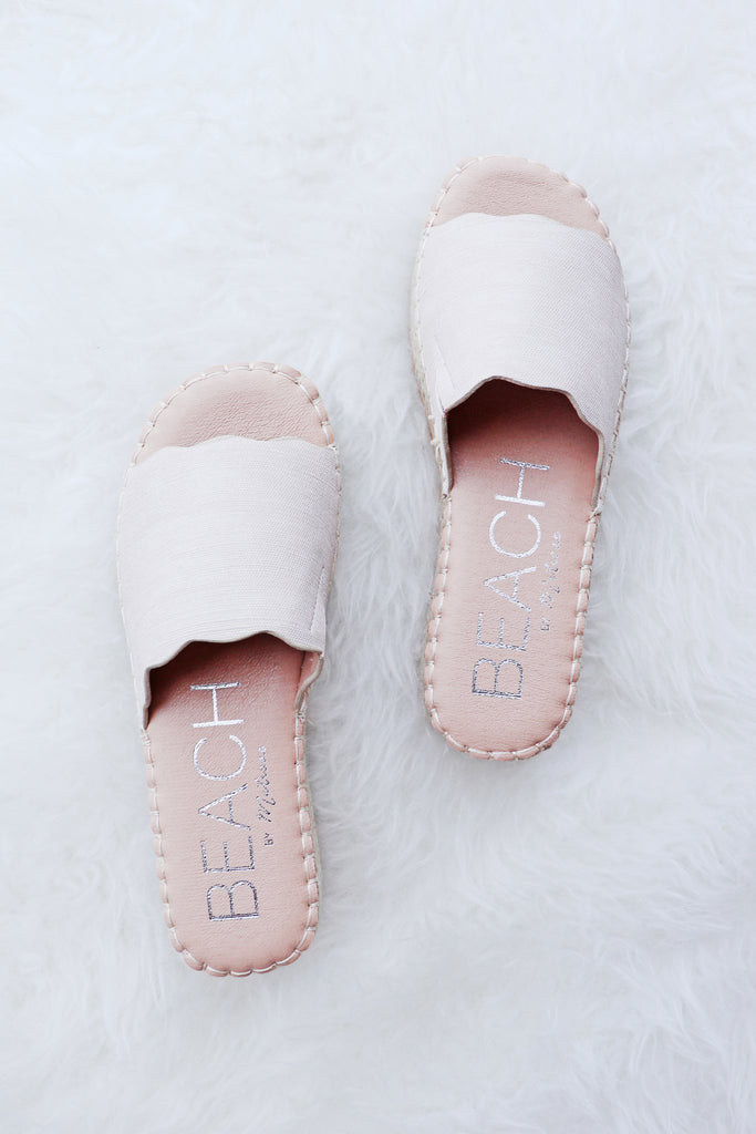 NORA PLATFORM SCALLOPED SLIDES