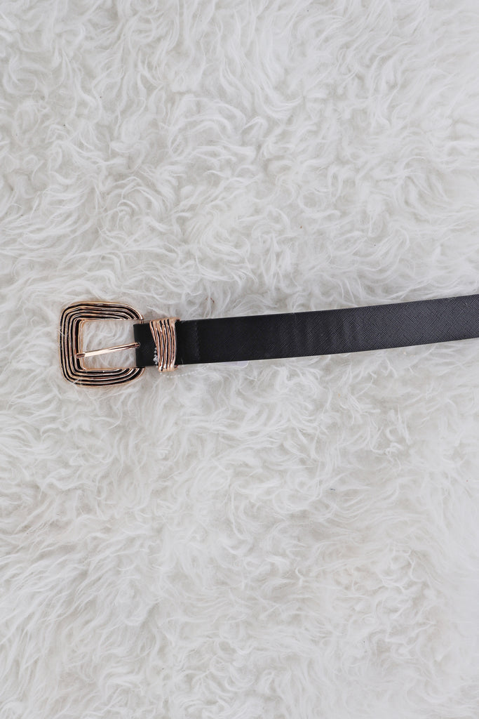 SQUARE RING BELT- 2 COLORS