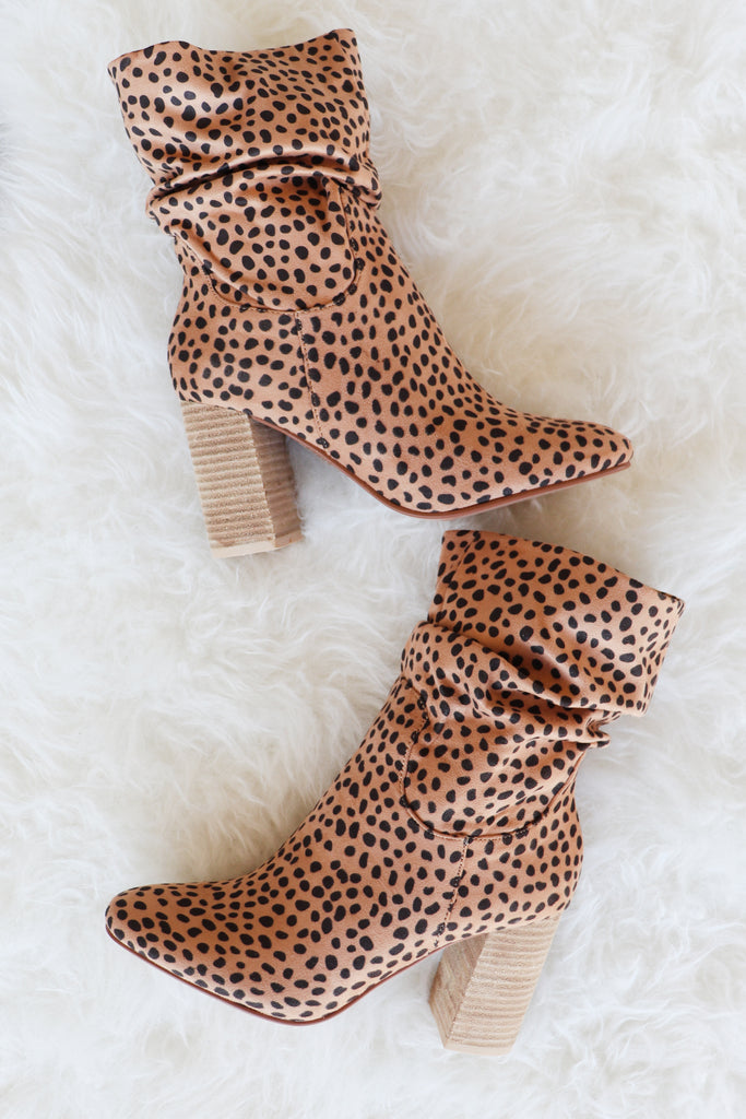 JOEY CHEETAH BOOTIE