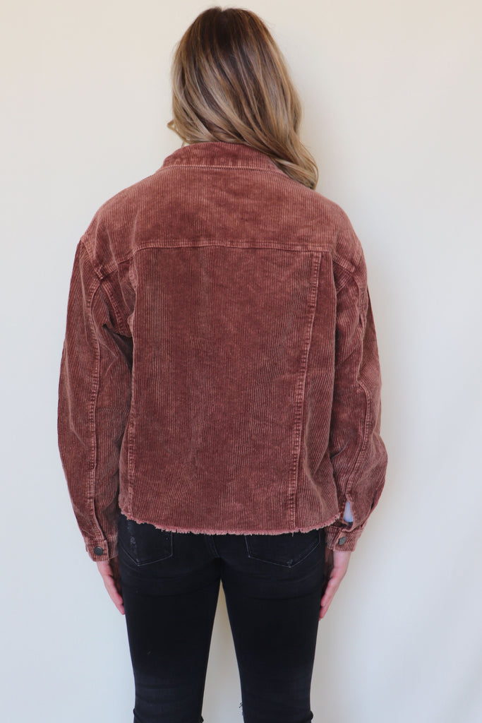 GET ON BOARD CORDUROY JACKET - 3 COLORS