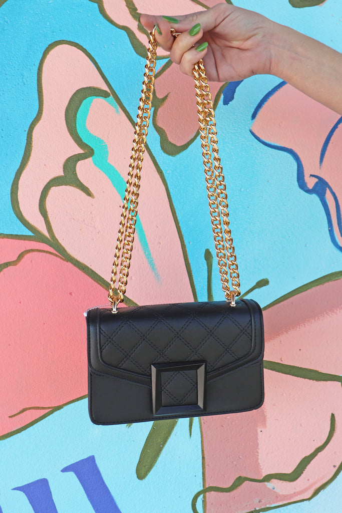 BLACK FAUX LEATHER ENVELOPE CROSSBODY BAG | ANARCHY STREET Blu Spero online shopping