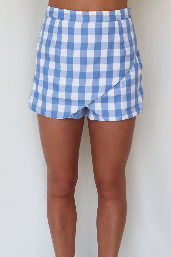 CLUELESS PLAID SKORT