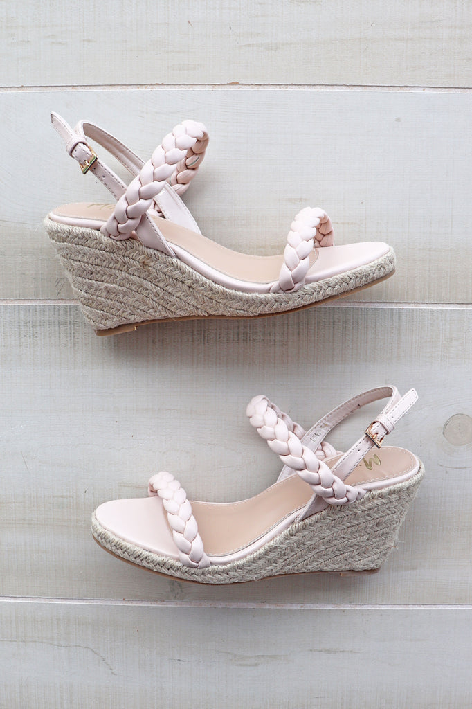 LUNA NUDE WEDGE