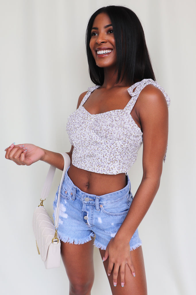 IN FULL BLOOM CROP TOP