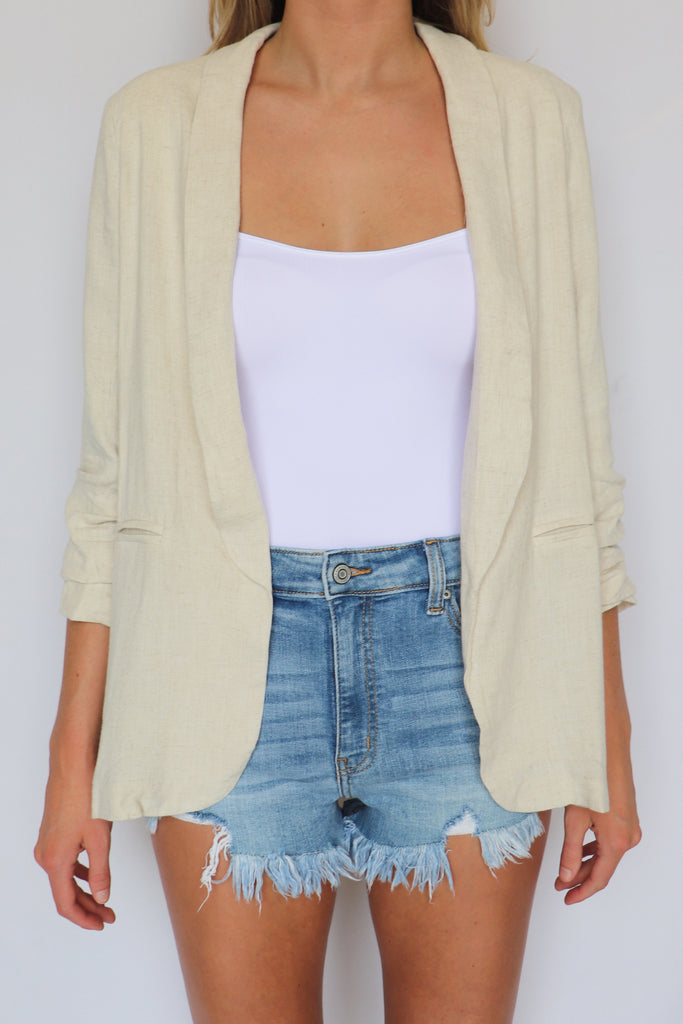 FEELIN FLAWLESS BLAZER JACKET | Entro Blu Spero online shopping