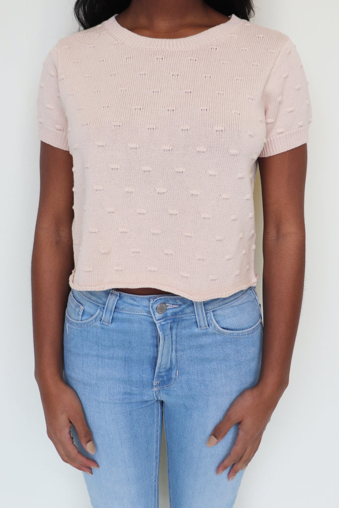 HAPPY HONEY POM POM TOP
