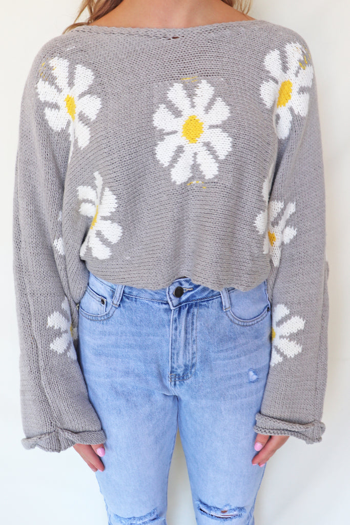FLOWER POWER SWEATER | STORIA Blu Spero online shopping