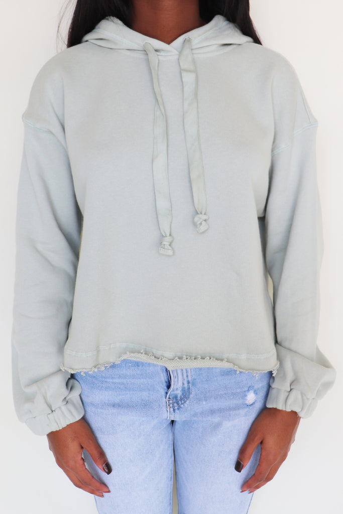 LOUNGE LANGUAGE HOODED SWEATSHIRT