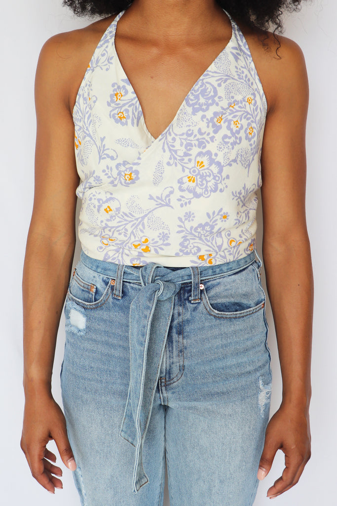 BUILD A DREAM HALTERED CROP TOP