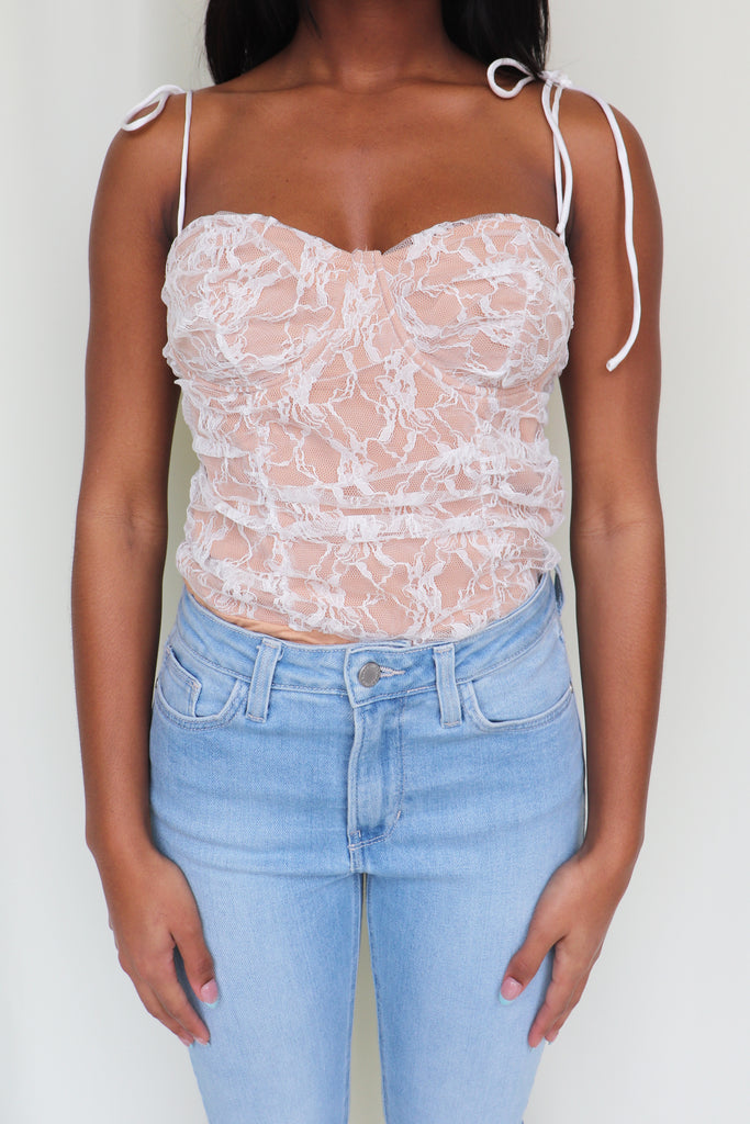 GIVING YOU HOPE LACE BODYSUIT