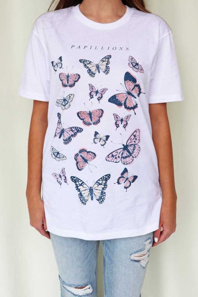 PAPILLION GRAPHIC TEE