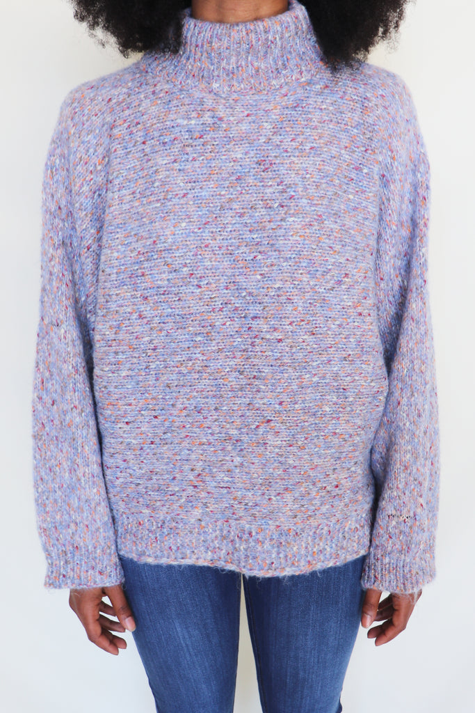 I LOVE YOU GREY SWEATER | Lush Blu Spero online shopping