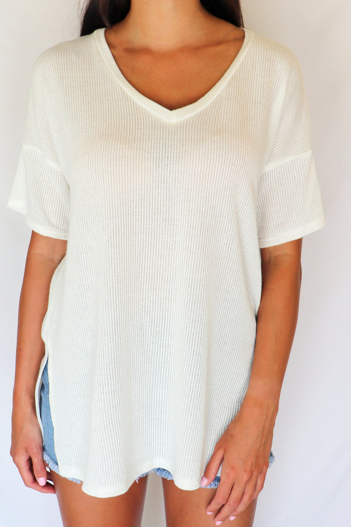 WHAT GOES AROUND WHITE TOP | CY FASHION Blu Spero online shopping