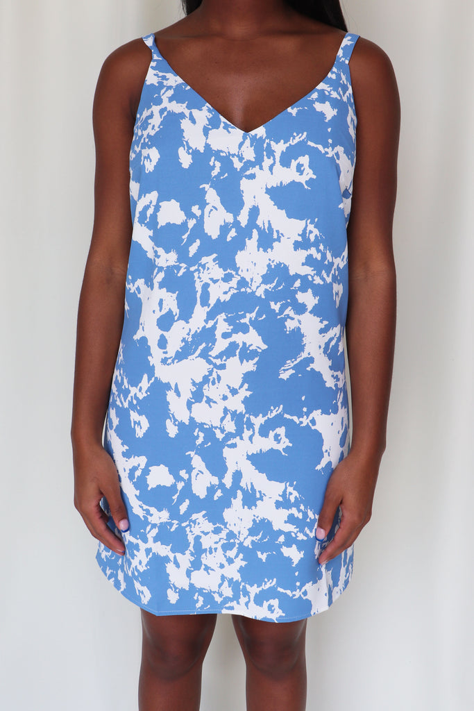 FLY AWAY BLU DRESS