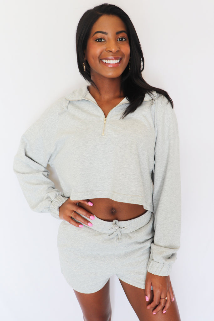 DAILY NAP TIME LONG SLEEVE TOP | BLUE BLUSH Blu Spero online shopping