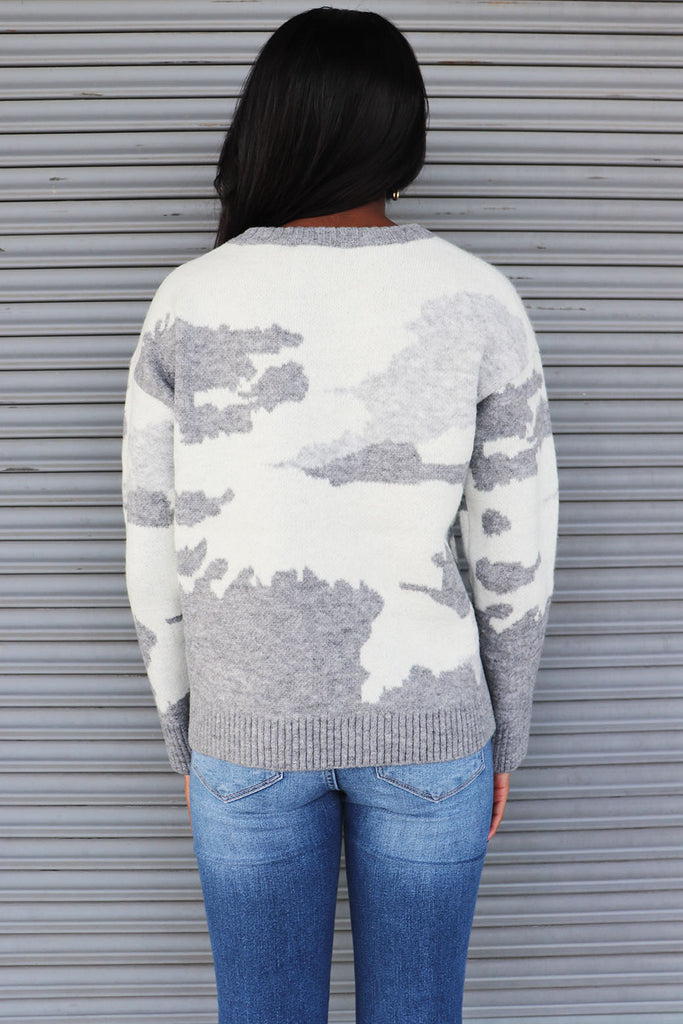 OUR HOUSE ABSTRACT SWEATER