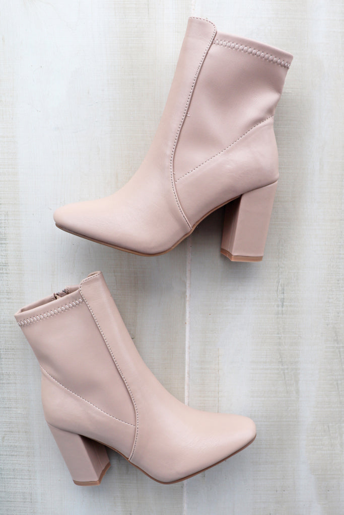 CARRIS NUDE BOOTIES | CCOCCI Blu Spero online shopping