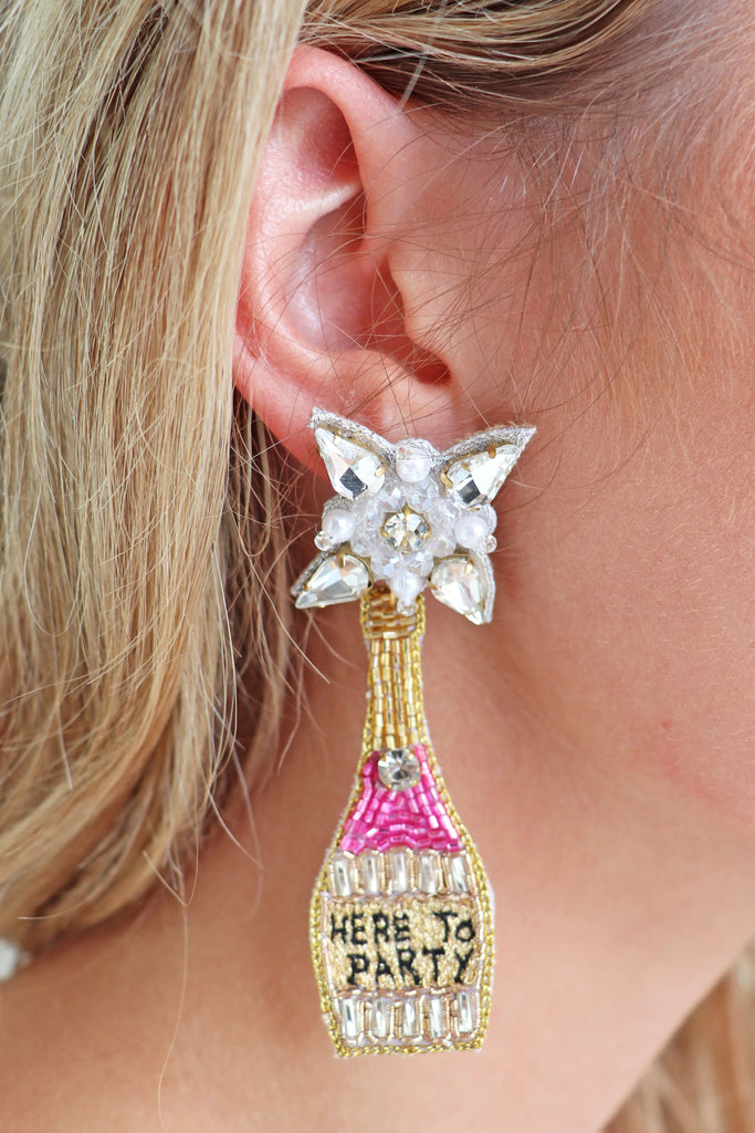 HERE TO PARTY EARRING