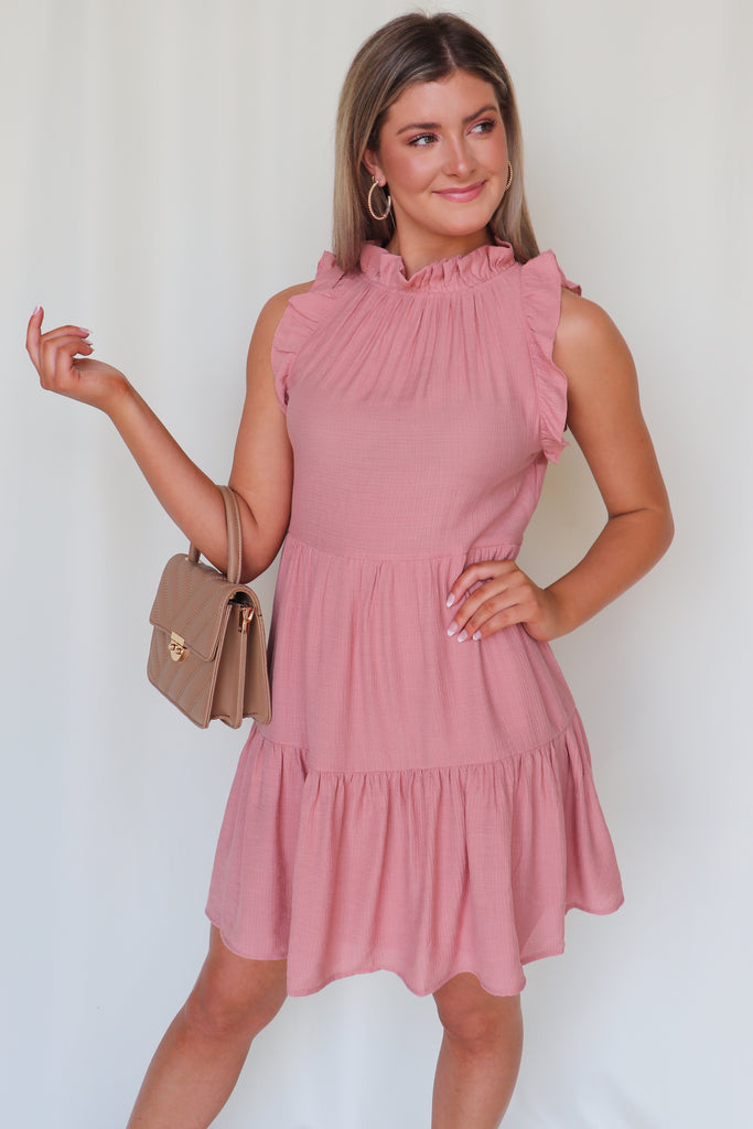 EFFORTLESSLY PERFECT TIERED DRESS
