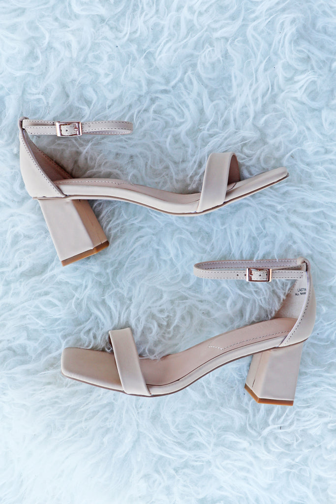 LUCY NUDE HEEL | SHOE SHOE TRAIN Blu Spero online shopping