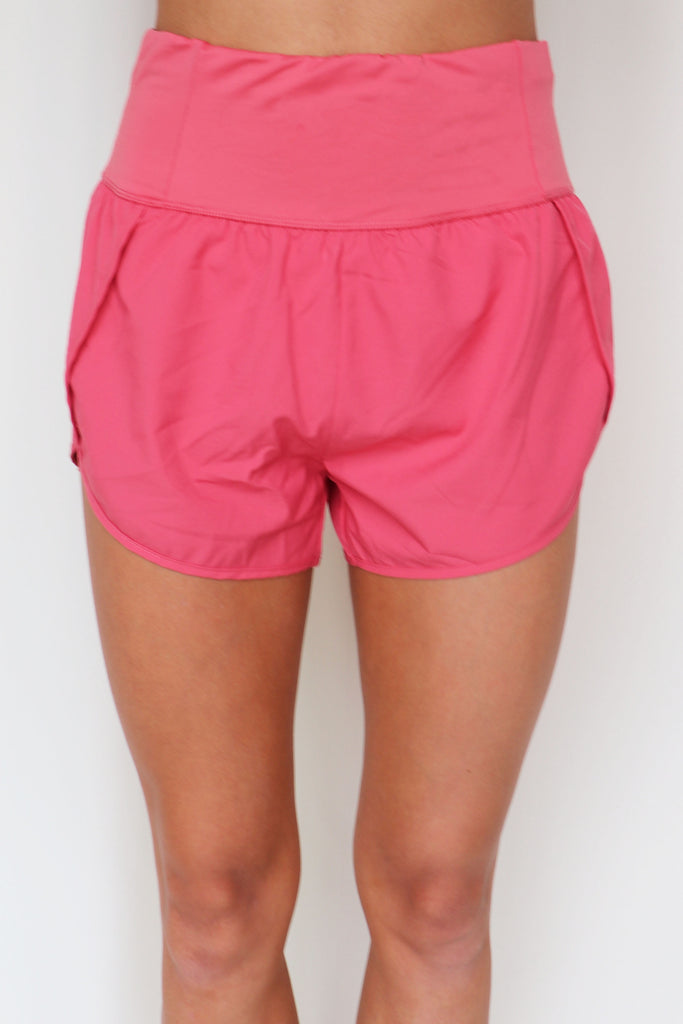 READY TO GET ACTIVE SOLID SHORTS - 2 COLORS