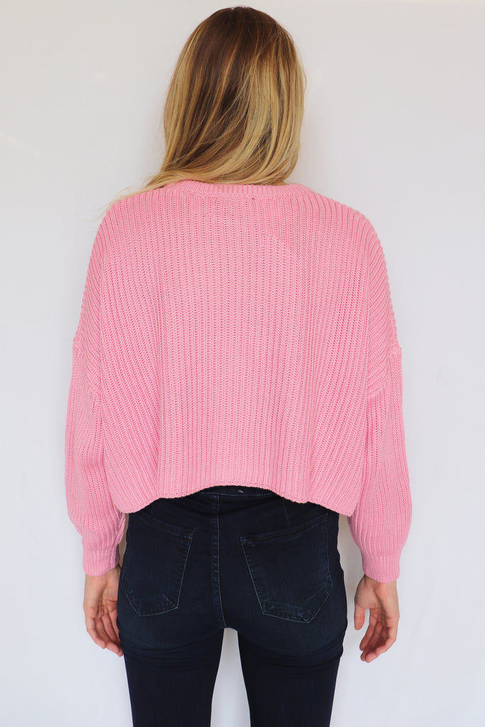 COMING UP COZY SWEATER - 2 COLORS