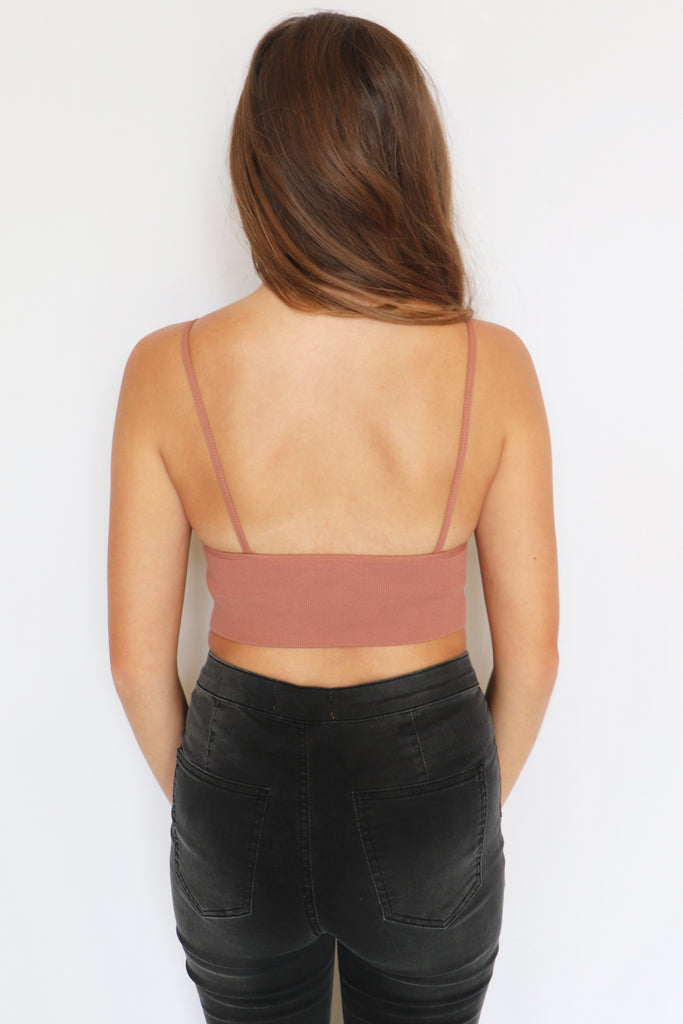CHEAP THRILLS SEAMLESS CROP TOP - 3 COLORS | BY TOGETHER Blu Spero online shopping