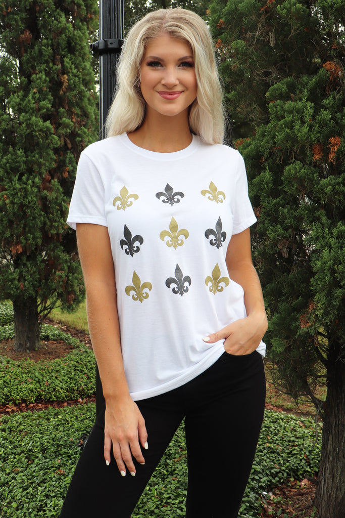 New orleans saints graphic tees
