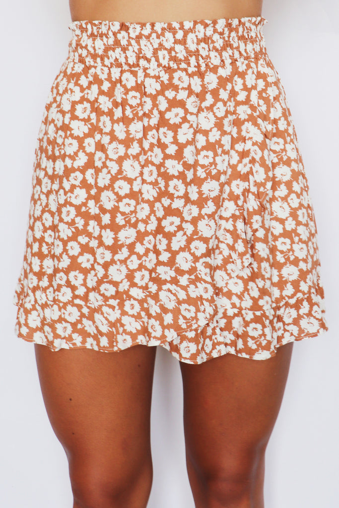 WARM WEATHER WRAP SKIRT | LE LIS Blu Spero online shopping