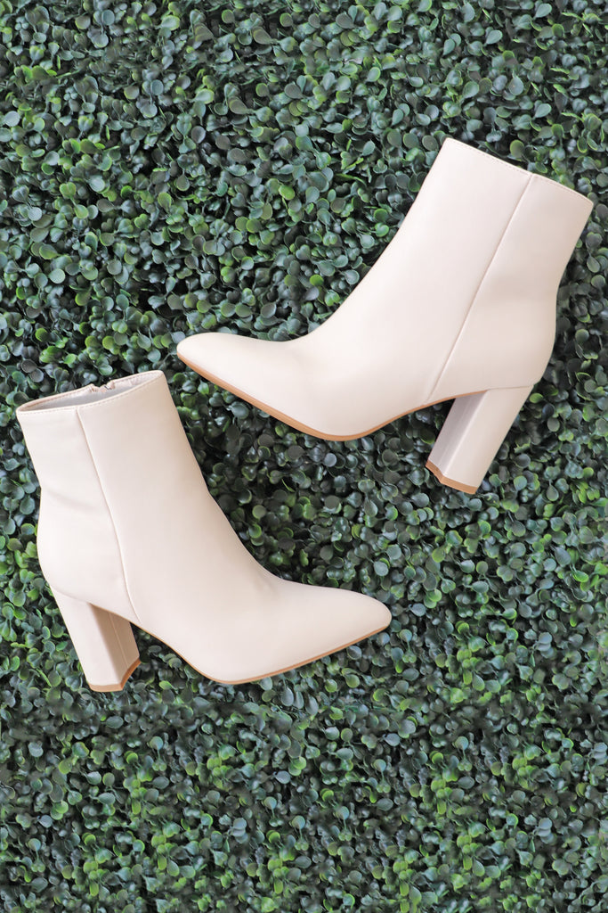 RON IVORY BOOTIES | VERONA COLLECTION Blu Spero online shopping