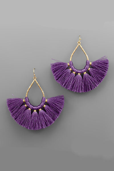 TASSEL TDROP EARRINGS