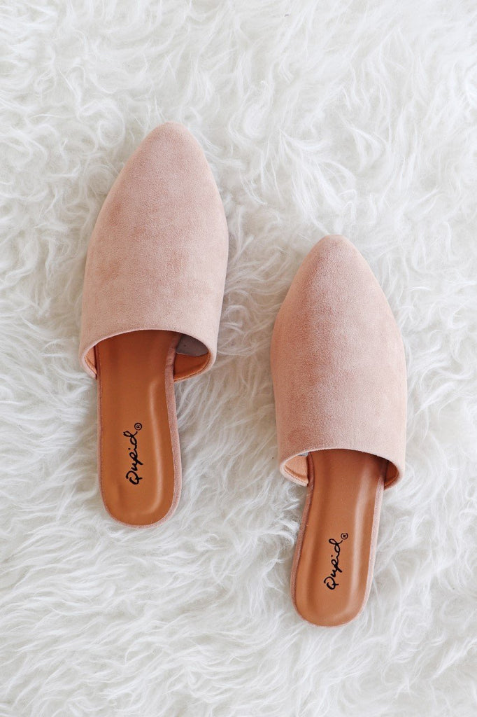 HANNAH TAUPE MULE | AMA GLOBAL Blu Spero online shopping