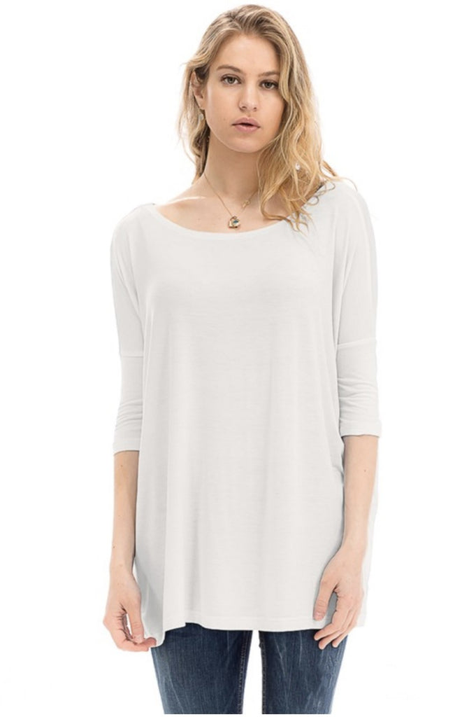 PERFECT WHITE PIKO TOP | PIKO Blu Spero online shopping