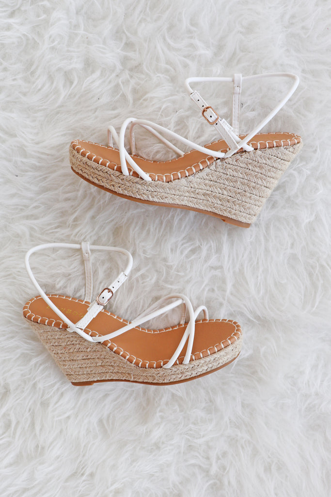 SALLY STRAPPY WEDGE