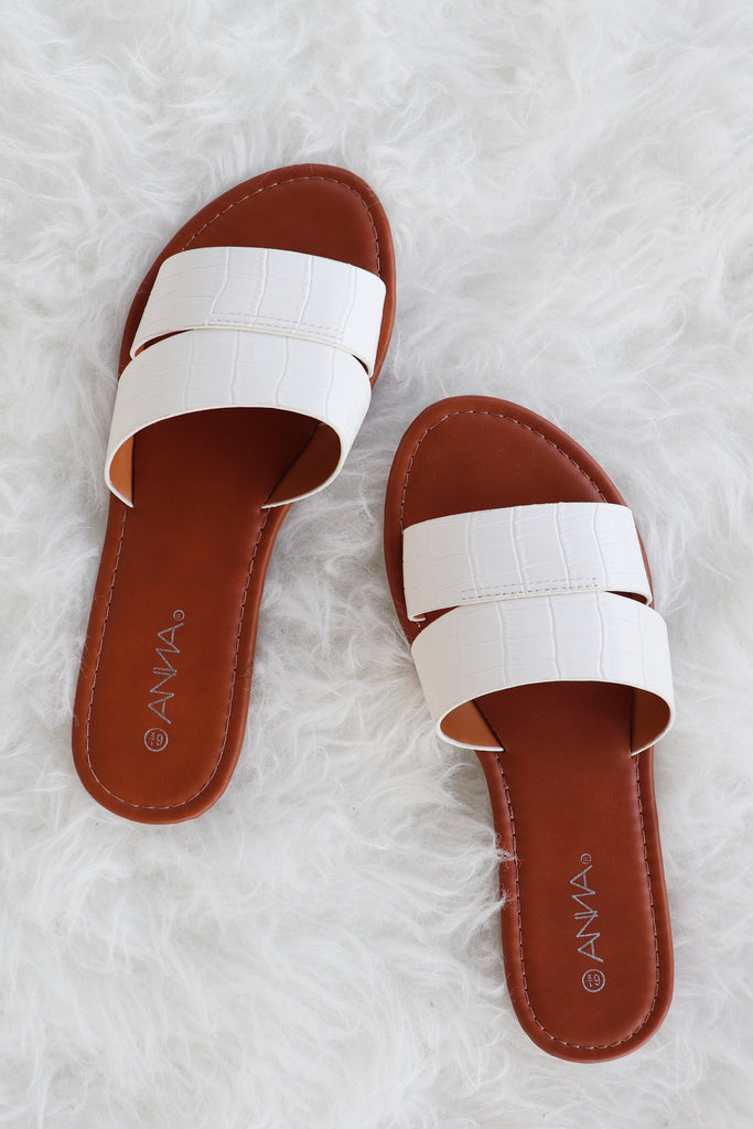 SAM OPEN TOE WHITE SANDALS | VERONA Blu Spero online shopping