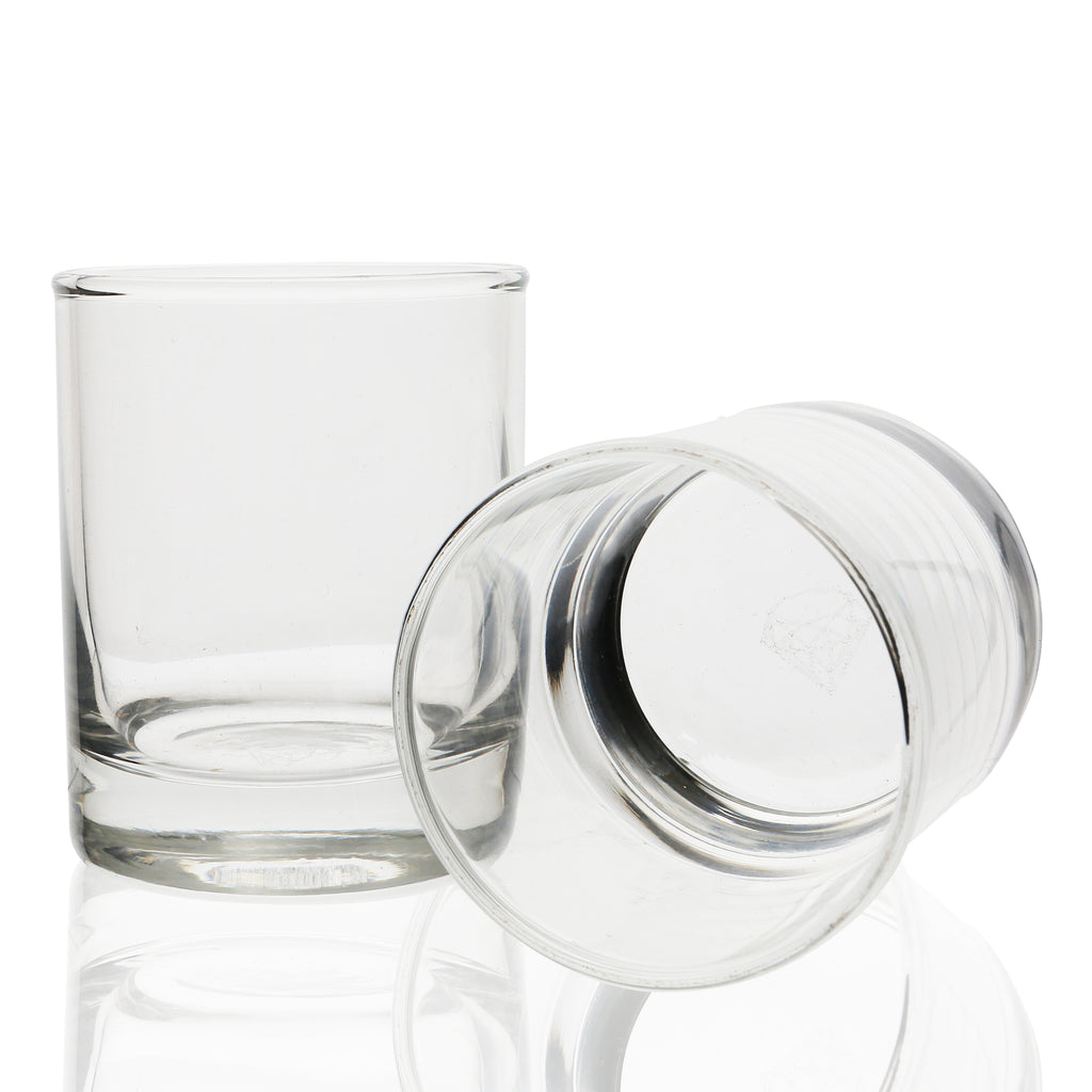 Whiskey Shot Glasses.  3.5 oz Set of 4 Classic Shooter Glasses.