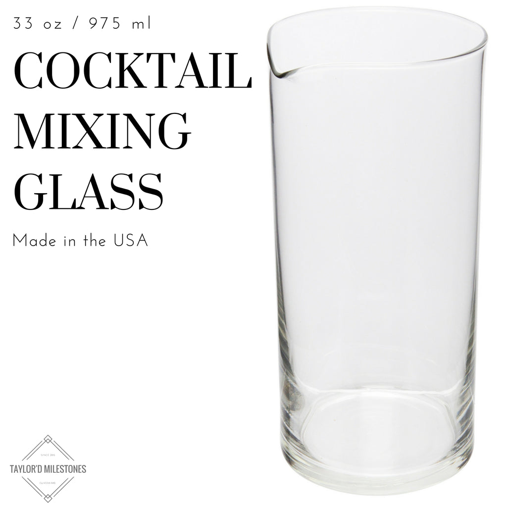 Cocktail Mixing Glass Bar Set