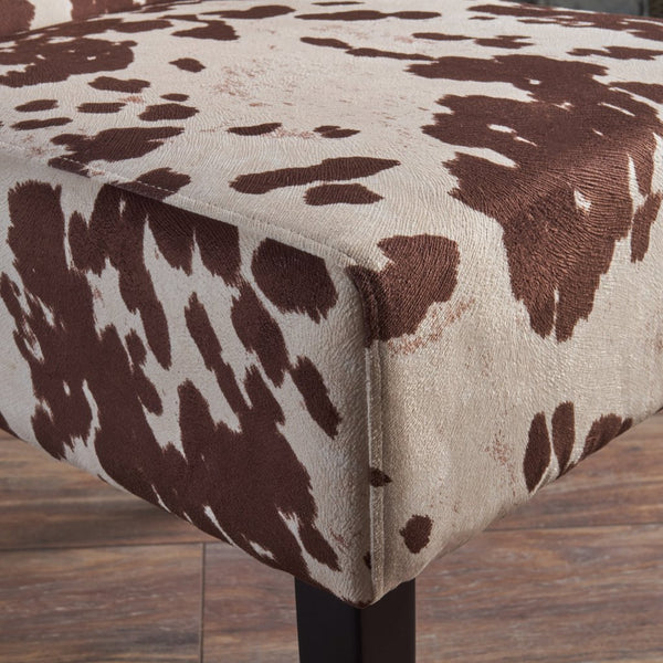 Contemporary Milk Cow New Velvet Dining Chair (Set Of 2)