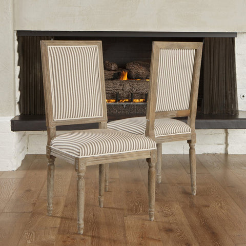 Blankenship French Design Dining Side Chairs (Set Of 2)