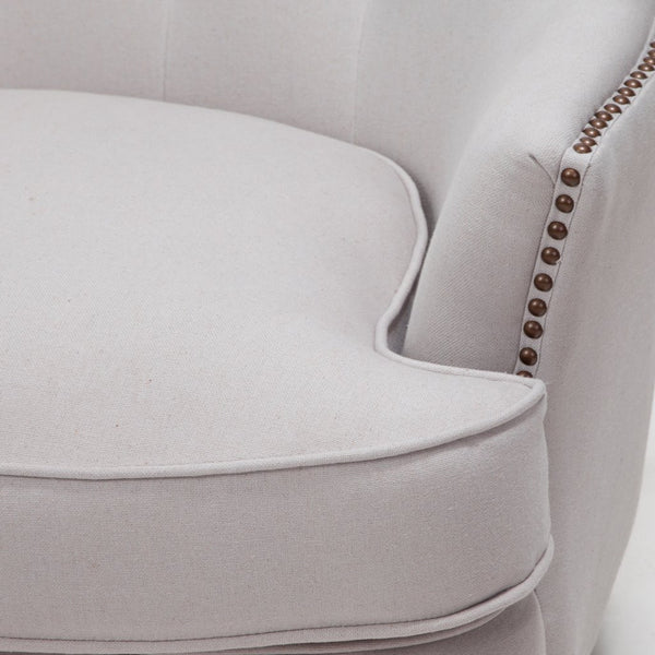 Brandy Upholstered Club Chair in Many Colors