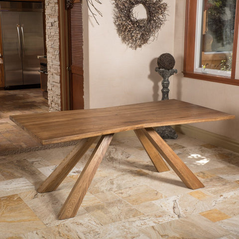 Cisneros Oak Wood Dining Table