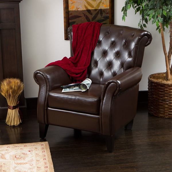 Estes Tufted Club Chair in Many  Color Options