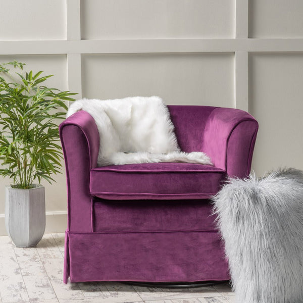 Crawford Swivel Chair in Many Color Options