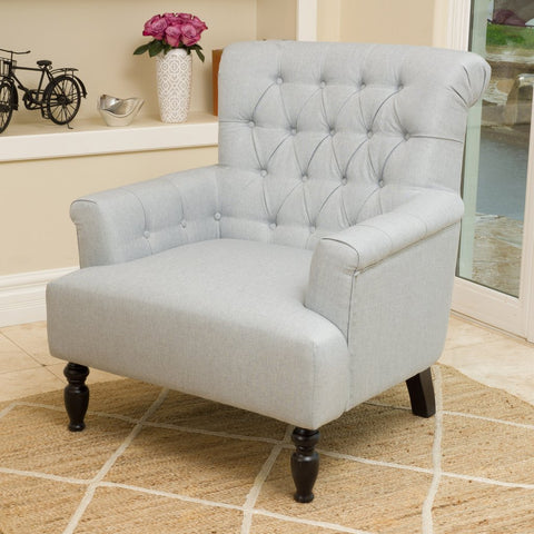 Kim Fabric Club Chair in Many Color Options